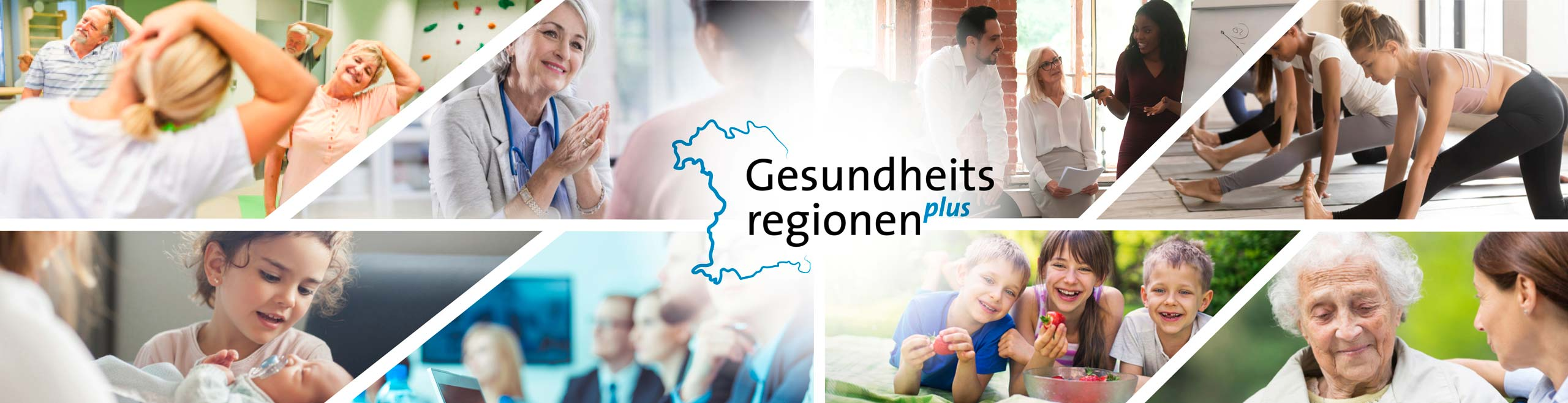 Gesundheitsregionen plus - Illustration